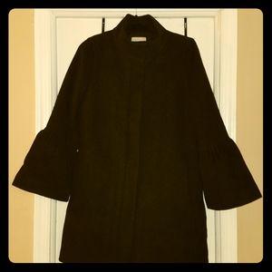 Bell Sleeve Winter Coat